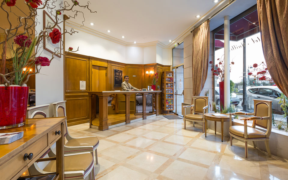 Hotel fertel maillot paris site officiel palais des for Tarifs hotel